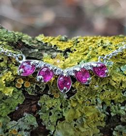 GAYNOR RUBY AND DIAMOND | Heulwen Lewis Bespoke
