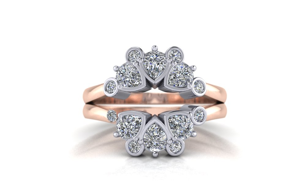 G&O Rd and Pear Floral Wedding and Eternity C